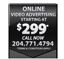 Online Video advertising winnipeg